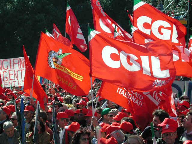 CGIL-sciopero