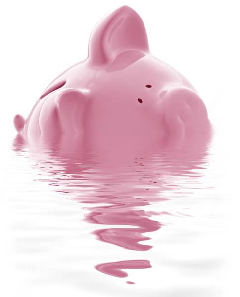 maiale-salvadanaio-debiti-povertà-soldi